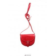 Женская кожаная сумка Anja (TR957) красная