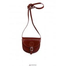 Женская кожаная сумка Anja (TR957) коричневая