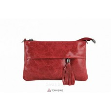 Женский кожаный клатч Lelia (TR982) красный