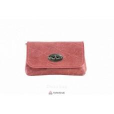 Женская кожаная сумка Kitty (P2310) лососевая