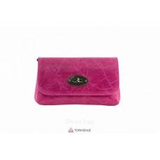 Женская кожаная сумка Kitty (P2310) фуксия