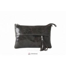 Женский кожаный клатч Lelia (TR982) темно-коричневый