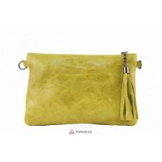 Женский кожаный клатч Kate (TR959) желтый