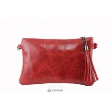 Женский кожаный клатч Kate (TR959) красный