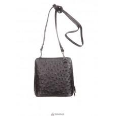 Женская кожаная сумка GRETA ( P2279) черная