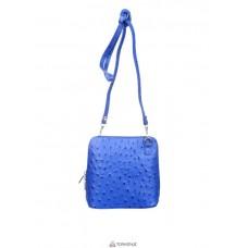 Женская кожаная сумка GRETA ( P2279) синяя