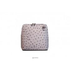 Женская кожаная сумка GRETA ( P2279) серая