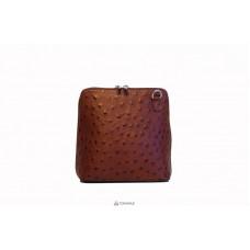 Женская кожаная сумка GRETA ( P2279) коричневая