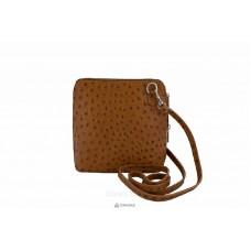 Женская кожаная сумка GRETA ( P2279) коньячная