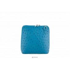 Женская кожаная сумка GRETA ( P2279) бирюзовая