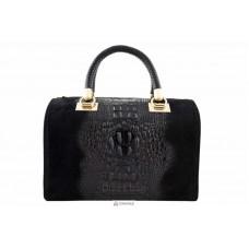 Женская кожаная сумка MARIANNE (M8836) черная