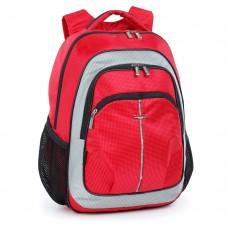 Ранец Dolly 521 красный с светло-серым