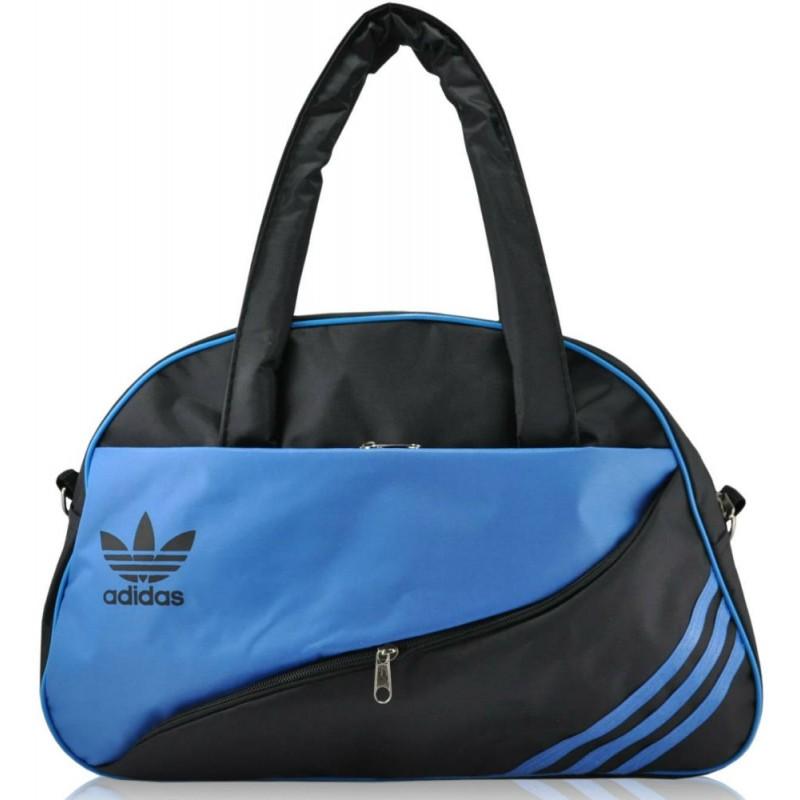 6d7bd0de3c24 спортивная сумка Adidas Diagonal черная с синим купить в киеве