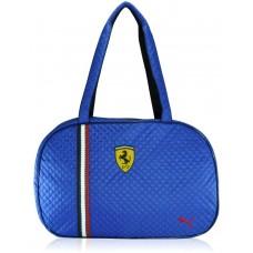 Спортивная сумка Puma Ferrari стеганая овал синяя