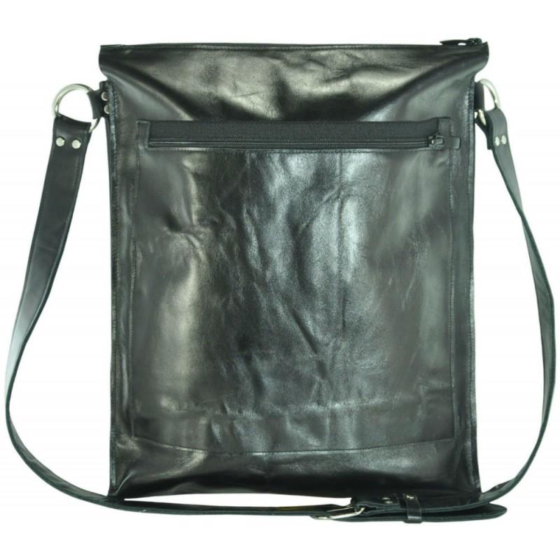 Шкіряна сумка sg-64-5 чорна купити в Києві недорого  87e2101348b12