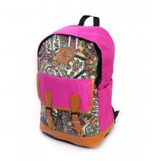 Рюкзак городской нейлон Lanpad 3339 розовый