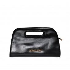 Клатч Case с вырезанной ручкой черный