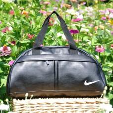 Спортивная сумка Nike Bogen черная с белым