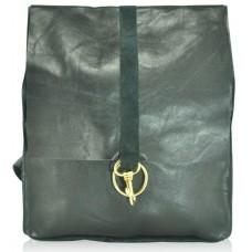 Кожаный рюкзак rg-68 черный