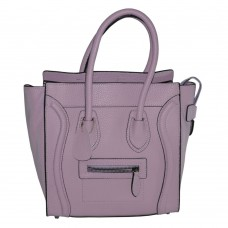 Женская сумка Celine Boston фиолетовая