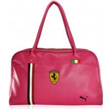 Спортивна сумка Puma Ferrari New рожева