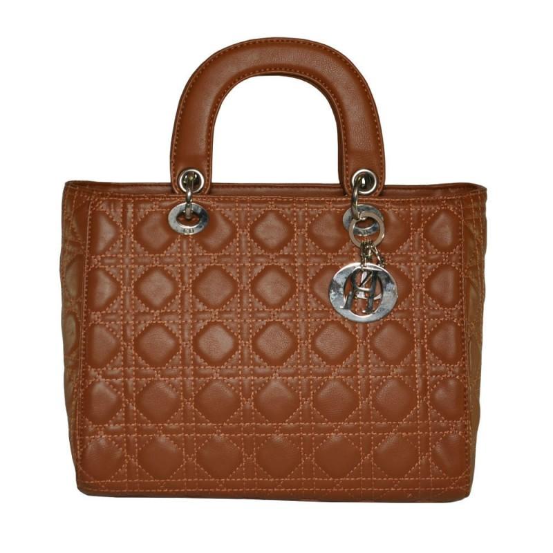 Жіноча сумка Lady Dior Cannage Bag руда купити в Києві недорого ... 9b8a2fdcdc5fb