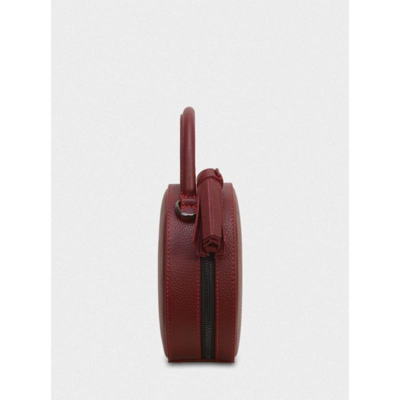 b8e13790cbea Женская кожаная сумка Tondo mini 043/6054/Lu бордовая — купить в ...