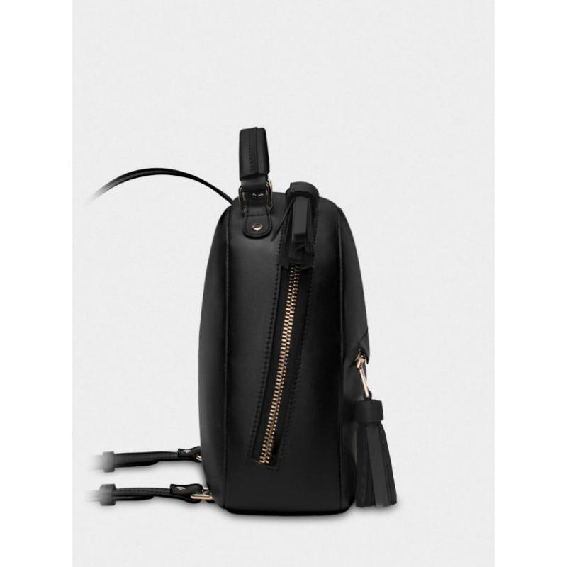 c354222a56e7 Женский кожаный рюкзак Zaino 027/0/T черный — купить в интернет ...