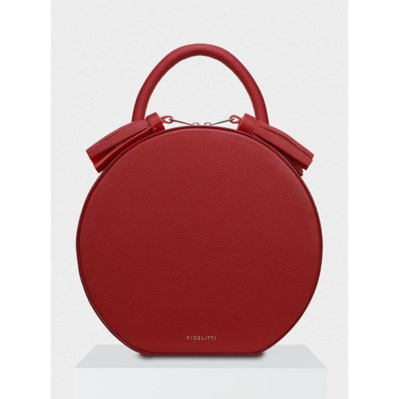 d1d9de1deef5 Женская кожаная сумка Tondo 019/6053/Lu гранатовая — купить в ...