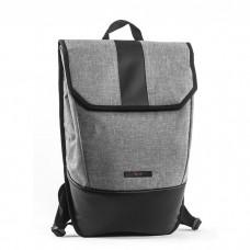 Рюкзак GIN SNAP ARK меланж светло-серый