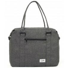 Дорожная сумка GIN M cotton темно-серая