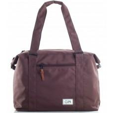 Дорожная сумка GIN M (trbsbr) коричневая