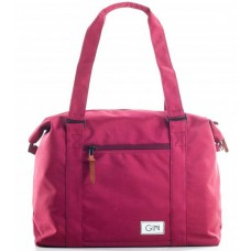 Дорожная сумка GIN M (trbsv) бордовая