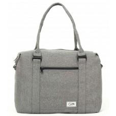 Дорожная сумка GIN M cotton светло-серая