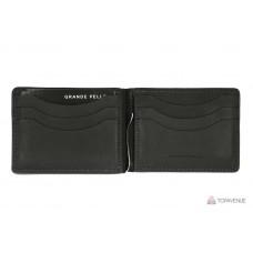Зажим-портмоне Grande Pelle 109110 чёрный