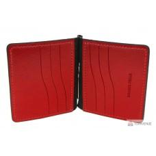 Зажим  Grande Pelle Quadro 11511060 чёрный с красным