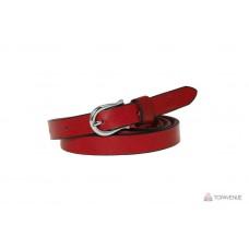 Кожаный ремень 16010400 красный