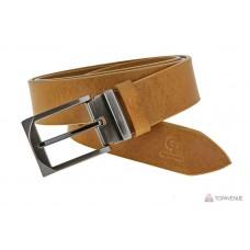 Кожаный ремень Grande Pelle Affari 332511261 рыжий бэк