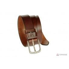 Кожаный ремень Grande Pelle Classico Antico 416612300 каштан