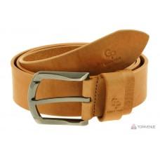 Кожаный ремень Grande Pelle Quadro 432508800 рыжий