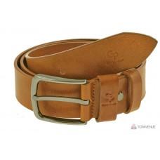 Кожаный ремень Grande Pelle Classico 434512300 коньяк