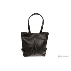 Рюкзак-сумка трансформер женский Grande Pelle 771620 шоколад