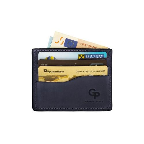 Кард-кейс Grande Pelle CardCase 305170 синий