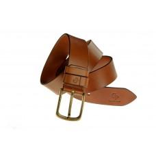 Кожаный ремень Grande Pelle Classico Bronzo 434712300 коньяк