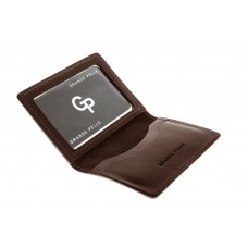 Обложка на права,тех паспорт, удостоверение Grande Pelle 211620 шоколад