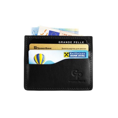 Кард-кейс Grande Pelle CardCase 305610 чорний
