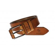 Кожаный ремень Grande Pelle Calvin Brandy 434013701 бренди