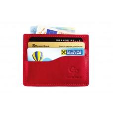 Кард-кейс CardCase Grande Pelle 305660 красный
