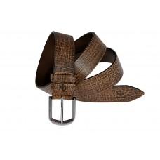 Ремень кожаный Grande Pelle Tela 343512800 коричневый