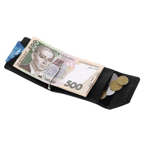 Зажим для денег Grande Pelle Soldi 120110 черный